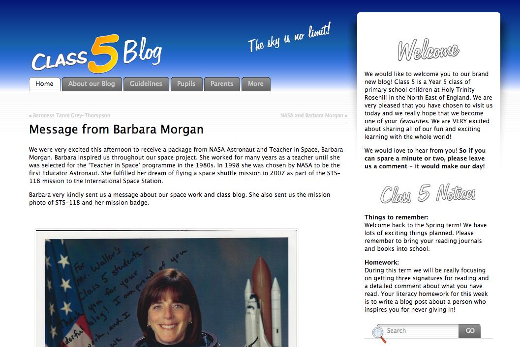 Class 5 Blog
